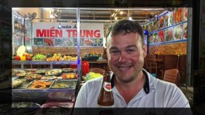 Happy At Phu Quoc Night Market - Vietnam