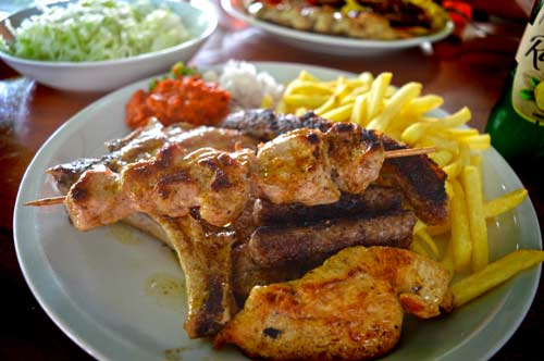 Konoba Papalina Barbecue Plate - Split, Croatia