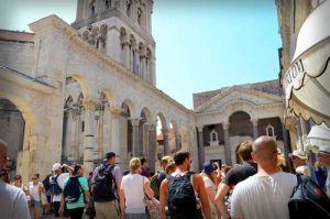 Diocletians Roman Palace - Old Town, Split, Croatia