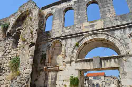 Image result for The Golden Gate of Diocletian's Palace