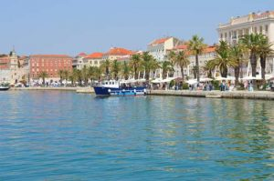 Split Waterfront - Cruise Port, Croatia