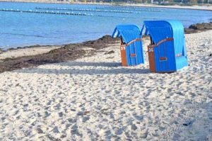 Strandkorb / Wicker Beach Chairs - Ruegen, Germany
