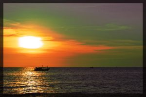 Sunset at Rory's Beach Bar - Phu Quoc, Vietnam