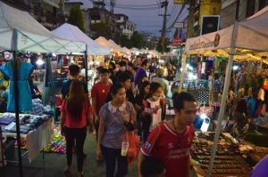 Saturday Night Market - Chiang Rai, Thailand