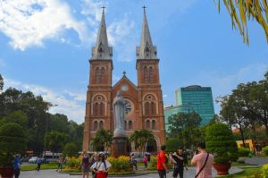 Notre Dame Cathedral - Ho Chi Minh City top sights, Vietnam
