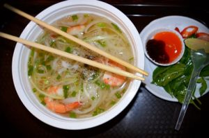 Shrimp Soup, Pho Tom - Ben Thanh Streetfood Market, Ho Chi Minh, Vietnam