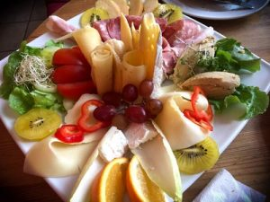 Café Tasso - Meat, Cheese and Fruit Platter - Berlin
