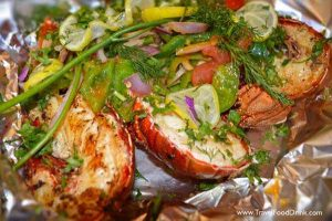 Grilled Lobster - Alhalaka Fish Restaurant - Hurghada, Egypt