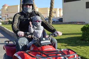 Little Ones Having Fun - Quad Safari - Hurgada