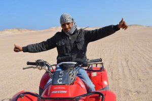 Our Fabulous Guide - Quad Tour, Makadi Bay, Egypt