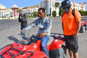 Quad Tour Preparation - Serenity, Makadi Bay, Hurghada-Egypt