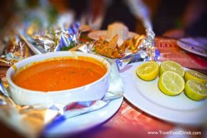 Red Curry Rice Sauce - Alhalaka Restaurant, Hurghada