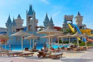 Castle at Hurghada Waterpark, Serenity Fun City, Makadi Bay