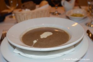 Cauliflower Mushroom Soup - Serenity Hotels Mexican Restaurant, Egypt