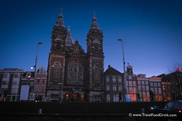 Evening, St. Nicholas Cathedral - Amsterdam