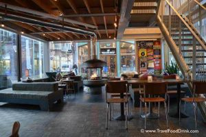 Fireplace - Q Cafe, Q Factory Hotel, Amsterdam