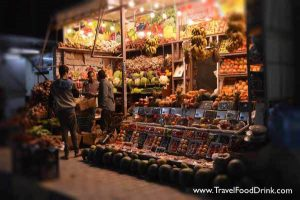 Fruit Stand, One Block from Marina Boulevard - Hurghada, Egypt