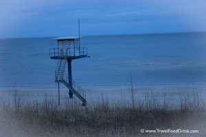 Lifeguard Tower - Heringsdorf Beach, Usedom, Germany