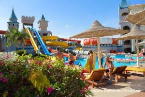Loungers & Umbrellas - Serenity Fun City Aqua Park - Makadi Bay