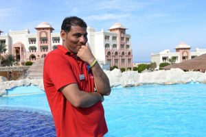 Mostafa - Sales at Master Diving Center in Serenity Resorts, Makadi Bay, Egypt