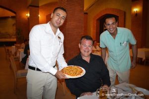 Pizza with Smiles! Al Dente, Serenity Hotels, Egypt