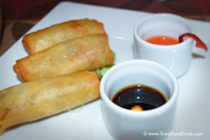 Poh Pia Thord, Deep Fried Spring Rolls - Serenity Hotels Specialty Restaurant Sayonara, Egypt