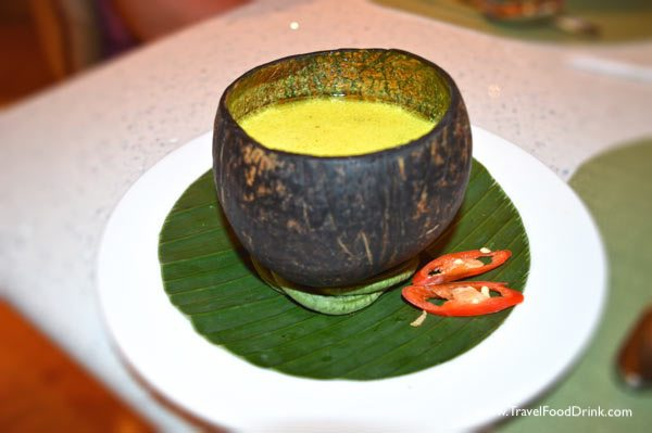 Balinese Chicken Soup - Yonne Cafe & Bar Restaurant, SenS Hotel Ubud