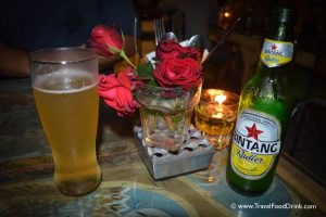 Bintang, Roses and Candles - MyWarung, Bali Bliss