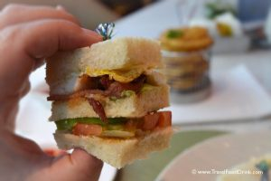 Club Sandwich - Western Food at Yonne Cafe & Bar, SenS Hotel, Ubud