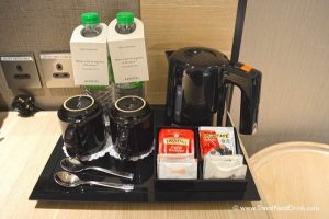 Complimentary Beverages - Aerotel Singapore, Changi Airport Hotel
