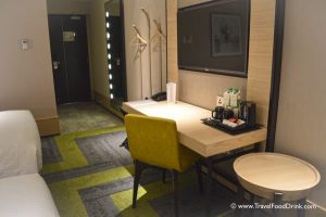 Double Room View to Hall - Aerotel Singapore
