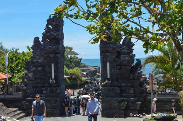 Entry to Tanah Lot Temple - Bali