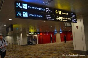 Hall Signage - Aerotel Singapore, Airport Hotel