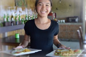 Lunch Time at D' Pererenan Warung Restaurant, Bali