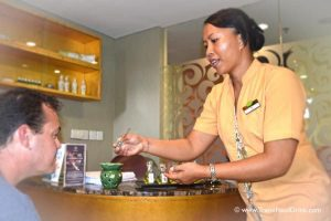 Massage Oil Scents Testing - SenS Spa, Ubud, Bali