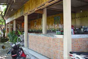 Outside View of D'Pererenan Warung - Bali