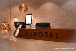 Reception Check In - Aerotel Singapore, Airport Hotel