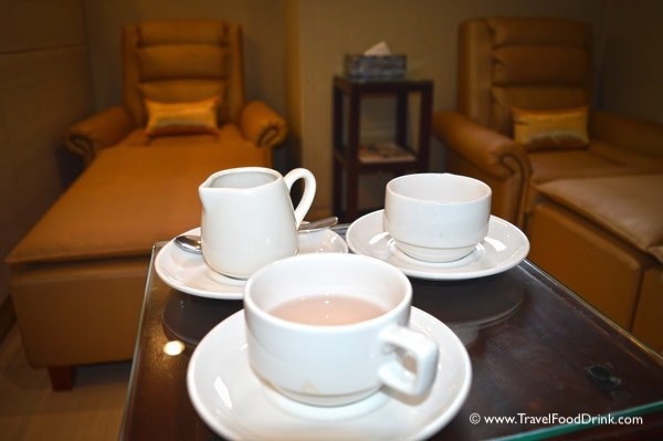 Relaxing Tea After Our Massage - SenS Spa, Ubud