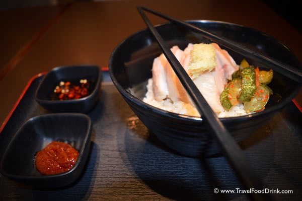 Singapore Chicken Rice - Plaza Premium Lounge, Singapore Airport