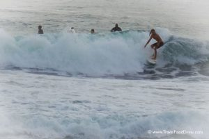 Surfing at Echo Beach - Canggu, Bali