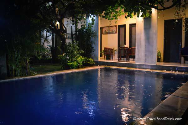 Pool, Evening Rain - Grand Bimasena Hotel - Legian Kuta, Bali