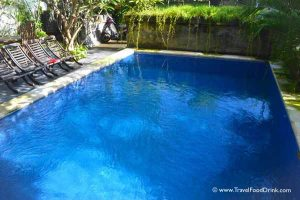 Swimming Pool at the Grand Bimasena Hotel - Legian Kuta, Bali