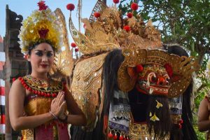 Barong Kris Dance Incredible Costumes - Bali