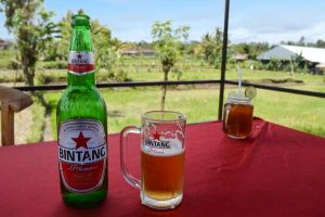 Taste of Bali, with a View - Bintang Beer