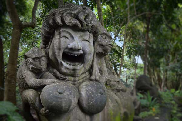 Entrance, Sacred Monkey Forest, Bali