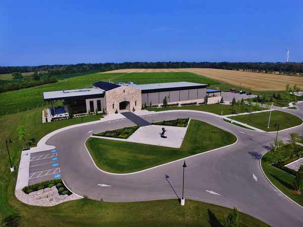 Aerial View, Dark Horse Winery