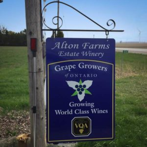 Alton Farms Estate Winery - Lake Huron