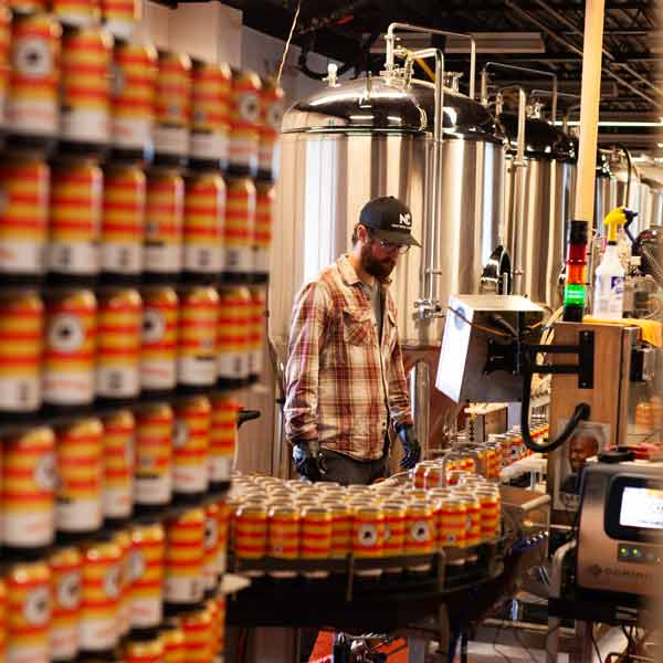 Refined Fool Brewery Canning Line