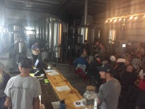 Stonepicker Brewing Taphouse, Beer Vats