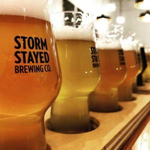 Storm Stayed Beer Flight
